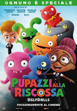 locandina del film PUPAZZI ALLA RISCOSSA - UGLYDOLLS