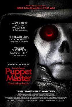 locandina del film PUPPET MASTER: THE LITTLEST REICH