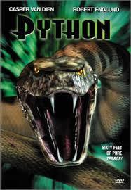 locandina del film PYTHON - SPIRALI DI PAURA
