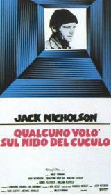 locandina del film QUALCUNO VOLO' SUL NIDO DEL CUCULO