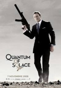 locandina del film QUANTUM OF SOLACE