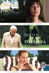 locandina del film QUELLA SERA DORATA