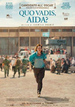 locandina del film QUO VADIS, AIDA?