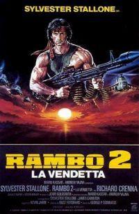 locandina del film RAMBO 2 - LA VENDETTA