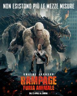 locandina del film RAMPAGE - FURIA ANIMALE