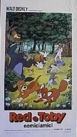 locandina del film RED E TOBY