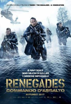 locandina del film RENEGADES - COMMANDO D'ASSALTO