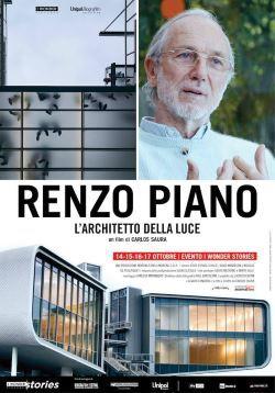 locandina del film RENZO PIANO: L'ARCHITETTO DELLA LUCE