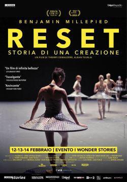 locandina del film RESET - STORIA DI UNA CREAZIONE