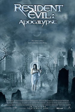 locandina del film RESIDENT EVIL 2 - APOCALIPSE