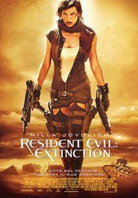locandina del film RESIDENT EVIL: EXTINCTION