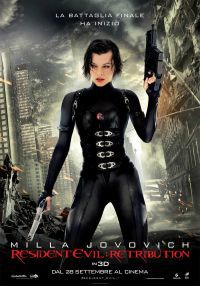 locandina del film RESIDENT EVIL: RETRIBUTION
