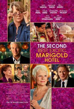 locandina del film RITORNO AL MARIGOLD HOTEL