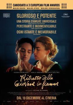 locandina del film RITRATTO DELLA GIOVANE IN FIAMME