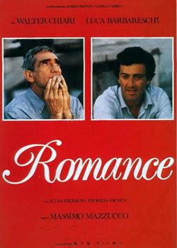 locandina del film ROMANCE (1986)