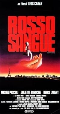 locandina del film ROSSO SANGUE
