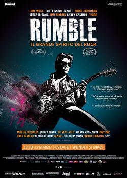 locandina del film RUMBLE: IL GRANDE SPIRITO DEL ROCK