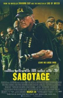 locandina del film SABOTAGE