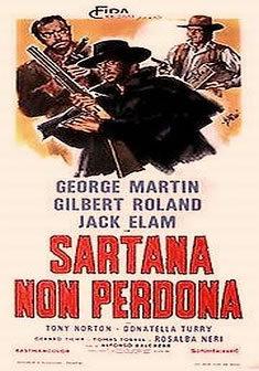 locandina del film SARTANA NON PERDONA