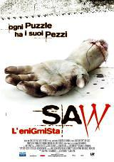 locandina del film SAW - L'ENIGMISTA