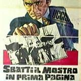 locandina del film SBATTI IL MOSTRO IN PRIMA PAGINA