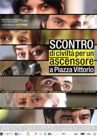 locandina del film SCONTRO DI CIVILTA' PER UN ASCENSORE IN PIAZZA VITTORIO