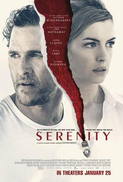 locandina del film SERENITY (2019)
