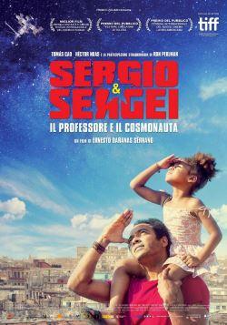 locandina del film SERGIO E SERGEI - IL PROFESSORE E IL COSMONAUTA