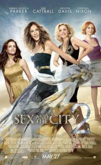locandina del film SEX AND THE CITY 2