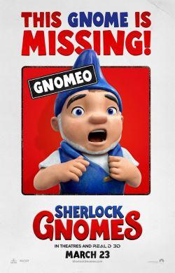 locandina del film SHERLOCK GNOMES
