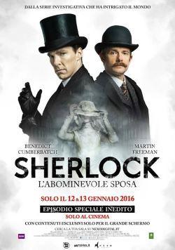 locandina del film SHERLOCK - L'ABOMINEVOLE SPOSA