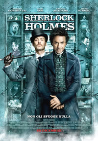 locandina del film SHERLOCK HOLMES