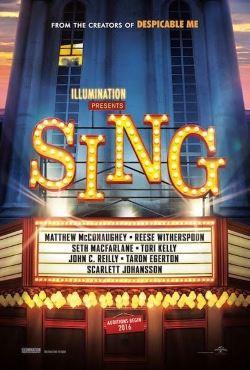 locandina del film SING