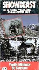 locandina del film SNOWBEAST (1977)