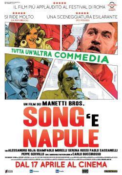 locandina del film SONG'E NAPULE