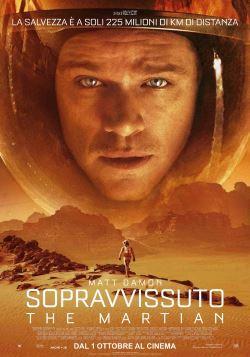 locandina del film SOPRAVVISSUTO - THE MARTIAN