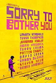 locandina del film SORRY TO BOTHER YOU