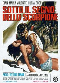 locandina del film SOTTO IL SEGNO DELLO SCORPIONE