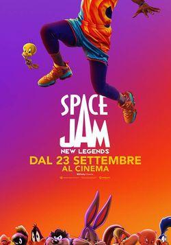 locandina del film SPACE JAM - NEW LEGENDS