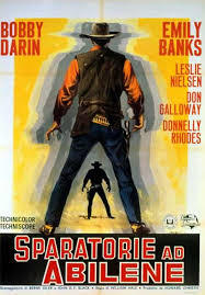 locandina del film SPARATORIE AD ABILENE