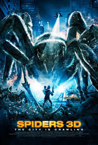 locandina del film SPIDERS 3D