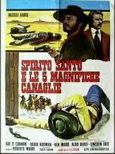 locandina del film SPIRITO SANTO E LE 5 MAGNIFICHE CANAGLIE