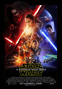 locandina del film STAR WARS: IL RISVEGLIO DELLA FORZA