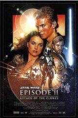 locandina del film STAR WARS EPISODIO II L'ATTACCO DEI CLONI