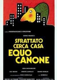 locandina del film SFRATTATO CERCA CASA EQUO CANONE