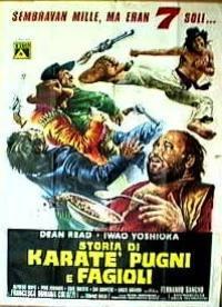 locandina del film STORIA DI KARATE', PUGNI E FAGIOLI