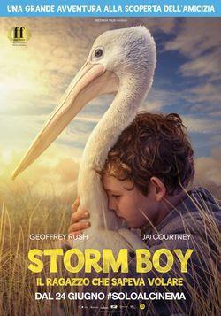 locandina del film STORM BOY - IL RAGAZZO CHE SAPEVA VOLARE