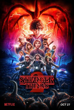 locandina del film STRANGER THINGS - STAGIONE 2