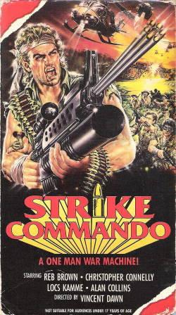 locandina del film STRIKE COMMANDO