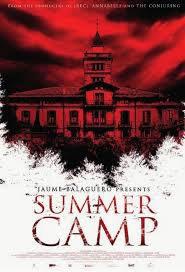 locandina del film SUMMER CAMP